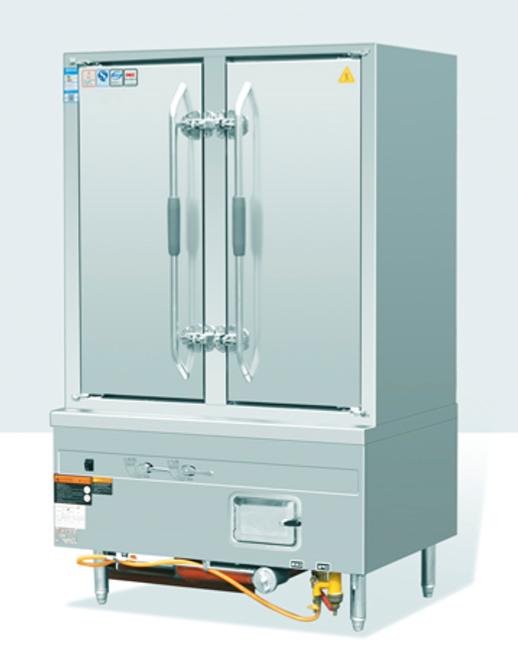 工程型敞开式双门海鲜蒸柜